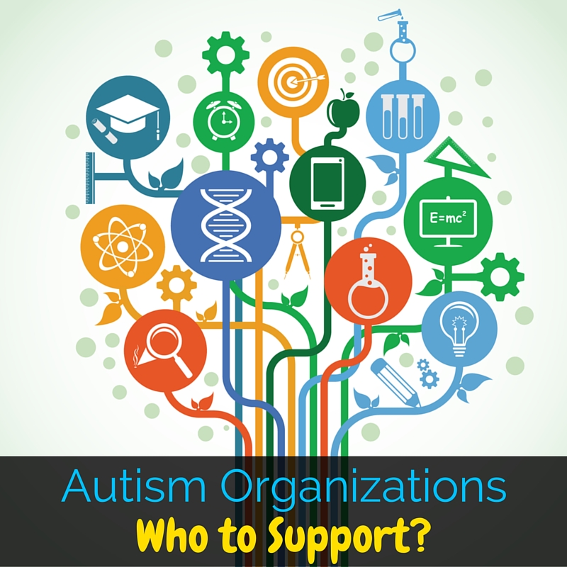 With so many autism organizations around, who should you support? This post outlines the good and bad of three major autism organizations.
