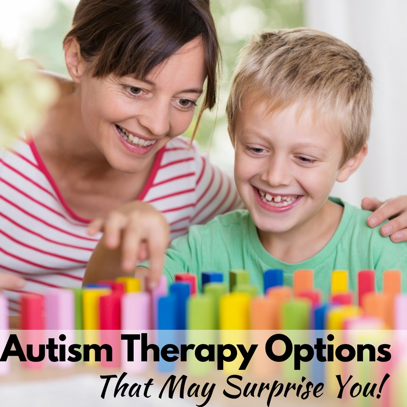 Autism Therapy Options That May Surprise You!