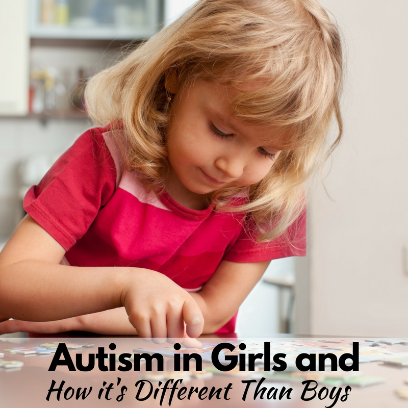Autism in Girls and How it's Different From Boys