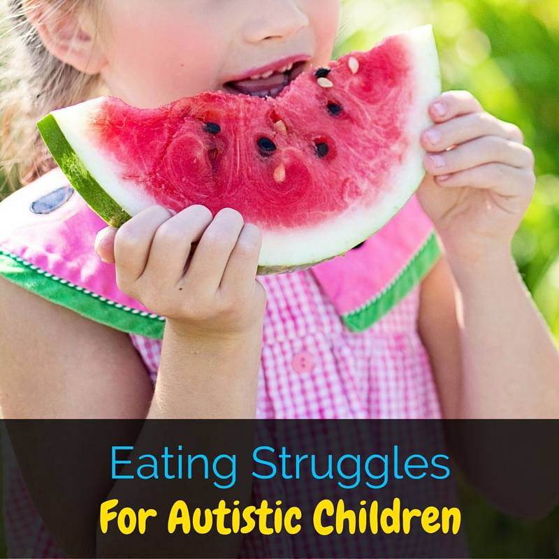 It can be difficult to understand eating struggles for autistic children, so it's important to have patience and try new foods at their pace!