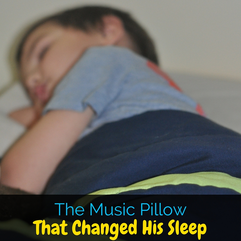 The Dreampad pillow from Integrated Learning Systems has completely changed my son's sleep. With autism and anxiety, sleep never came easy until now!