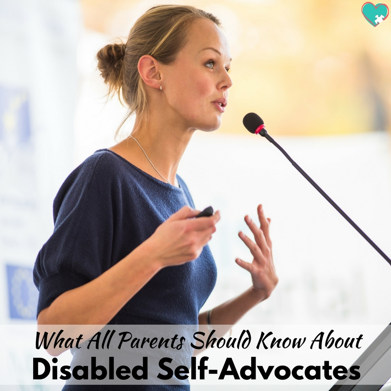 What All Parents Should Know About Disabled Self-Advocates