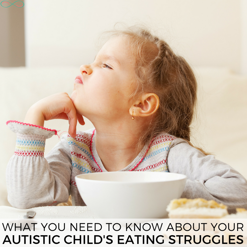 What You Need to Know About Your Autistic Child's Eating Struggles #Autistic #Autism #ActuallyAutistic #PickyEating #PickyEaters #parenting #autismmom