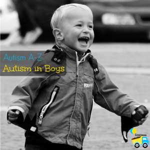 1 in 42 boys is autistic, so today in the Autism A-Z series I am covering autism in boys. Signs to watch for, why autism in boys is so likely, and more!