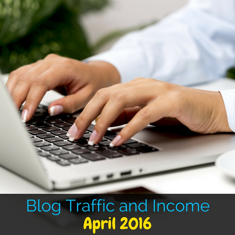 This is the blog traffic and income report for April 2016 for the This Outnumbered Mama blog. This month was bigger than normal, so we're celebrating!