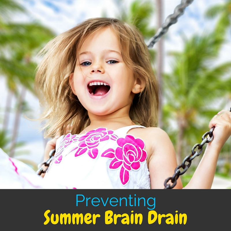Summer brain drain is a real struggle for kids who take a full three months off learning. Learn how to easily prevent in this post!