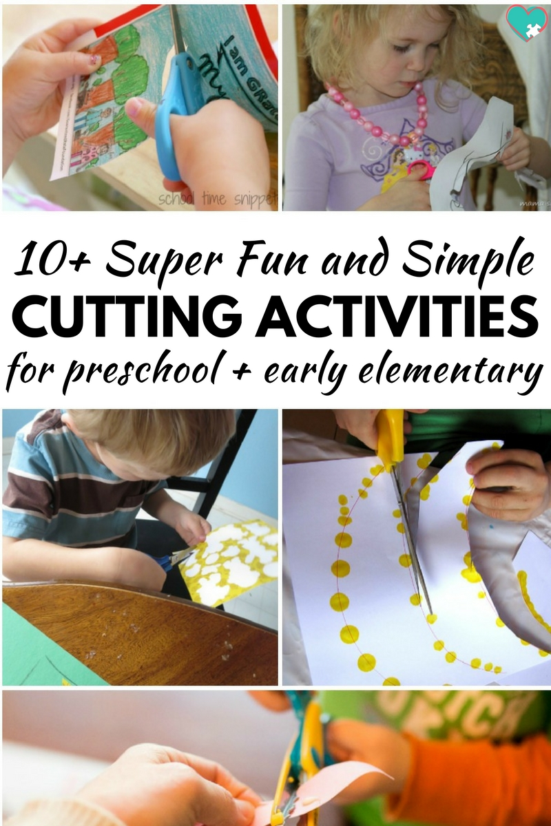 10+ Super fun and Simple Cutting Activities for Kids!