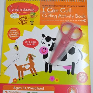 I Can Cut Activity Book