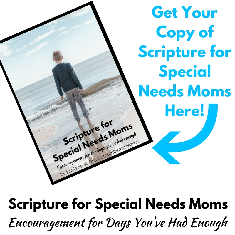 Get Your Copy of Scripture for Special Needs Moms Here!
