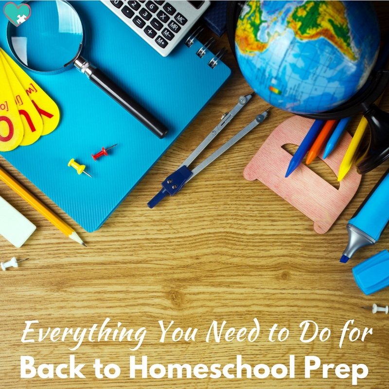10 Days of Back to Homeschool Prep for Homeschooling Moms