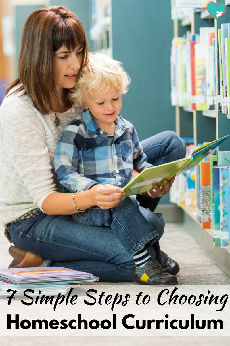 7 Simple Steps to Choosing Homeschool Curriculum!