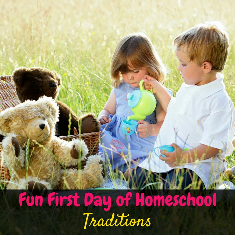 It's so important to have some fun first day of homeschool traditions to start your homeschool year off as a success! This post has some really great ideas!