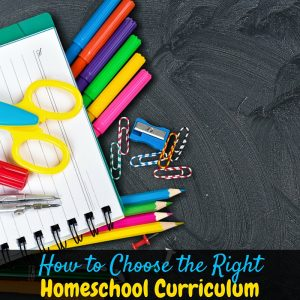 It's time for back to homeschool prep, and this is how to choose the right homeschool curriculum for your family! Find the perfect homeschool curriculum!