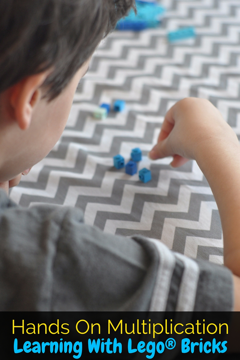 Hands On Multiplication: Learning With LEGO® Bricks