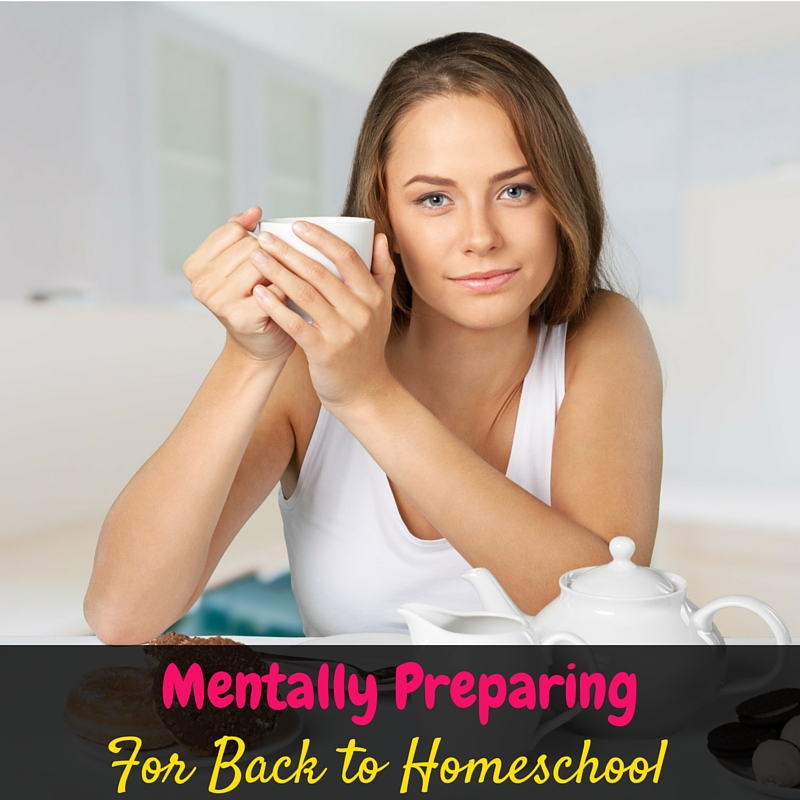 Take some time to mentally prepare to go back to homeschool as part of your back to homeschool prep so that you can take on the school year refreshed!
