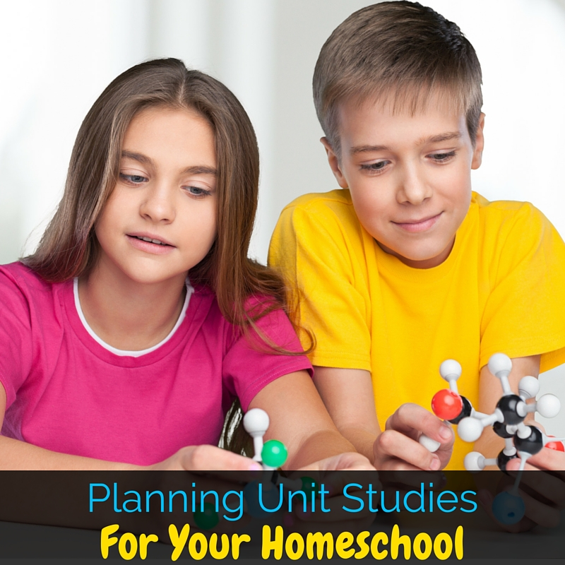 Planning unit studies for your homeschool doesn't have to be intimidating or scary. This post guides you step by step through planning fun unit studies!