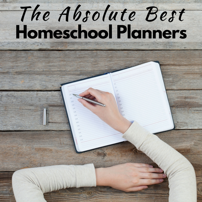 The Absolute Best Homeschool Planners for Busy Moms!