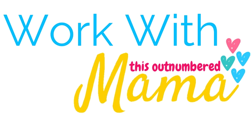 Work With This Outnumbered Mama to help share your fantastic products with my highly engaged audience of moms!