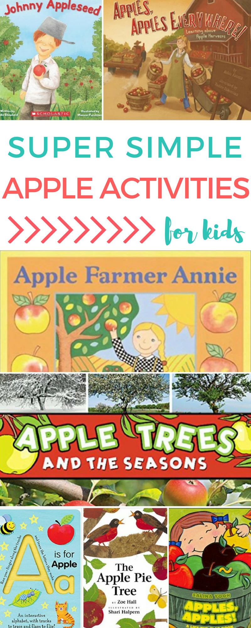 Super Simple Apple Activities for Kids