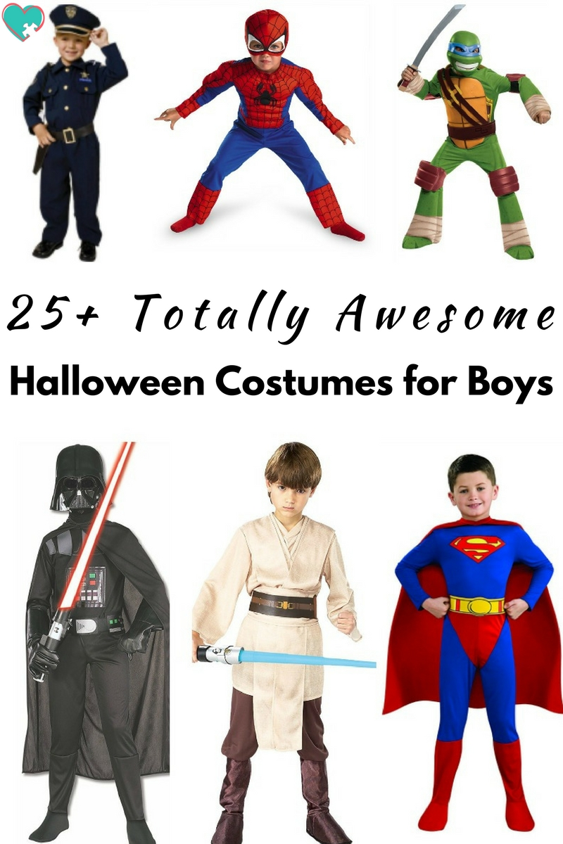 25+ Totally Awesome Halloween Costumes for Boys