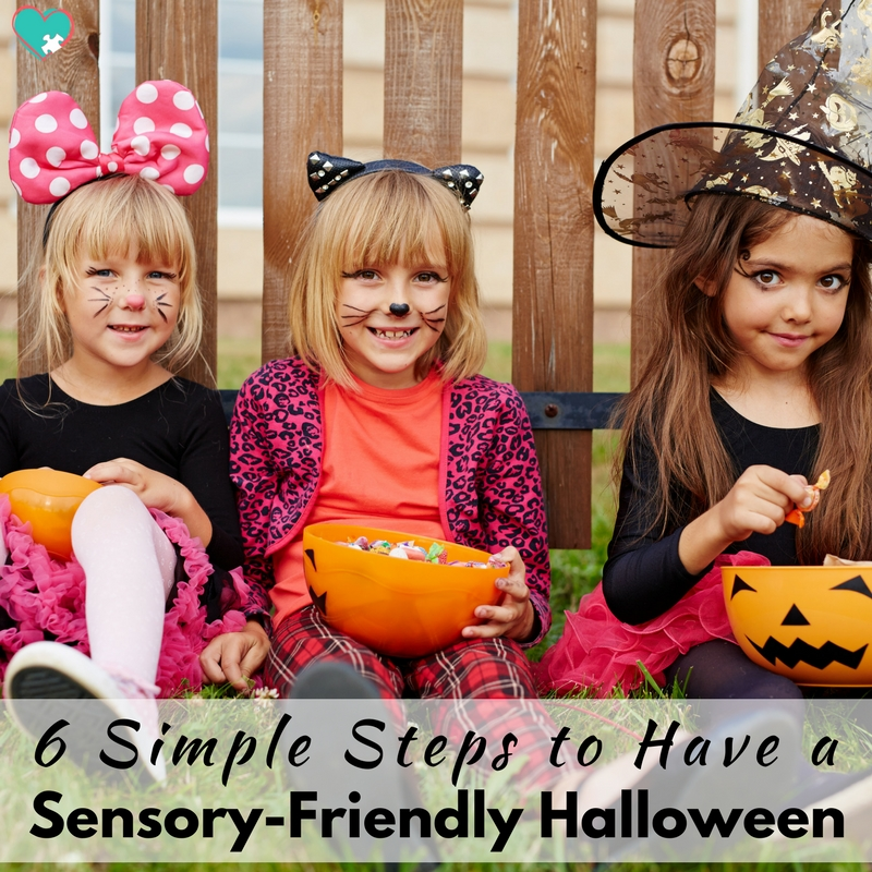 6 Simple Steps to Have a Sensory-Friendly Halloween!