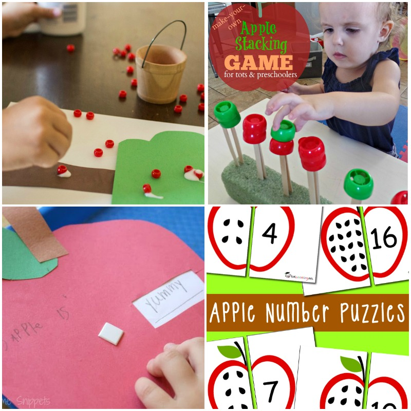 You have GOT to try these apple activities if you're planning an apple unit for your preschool this fall! It's the best resource for apple activities for kids!