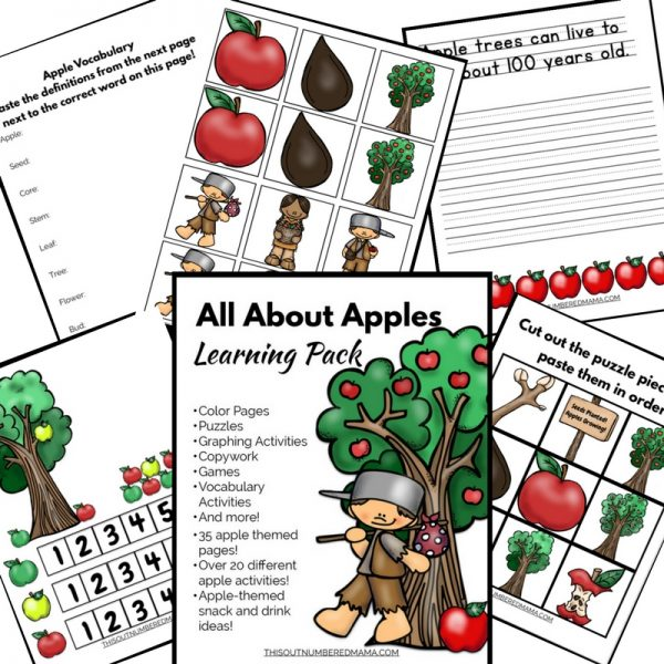 Get the All About Apples Learning Pack Here!
