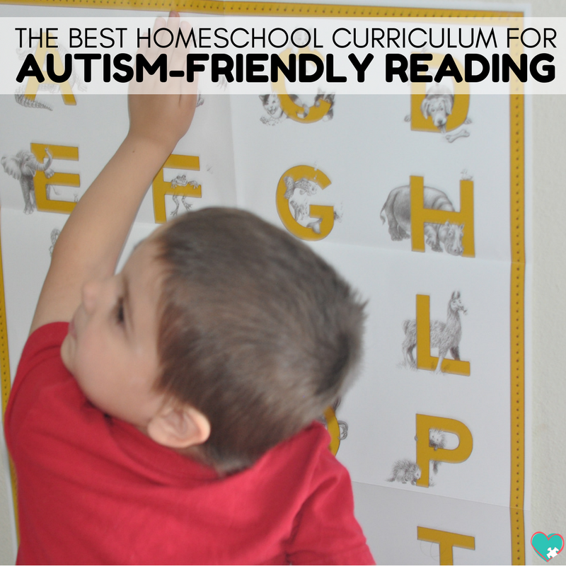 Autism-Friendly Reading Curriculum | A Hands-On Reading Curriculum for Your Homeschool #homeschooling #homeschool #ihsnet #autism #homeschoolreading #specialneedshomeschool