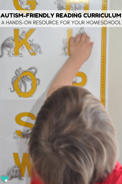 Autism-Friendly Reading Curriculum | A Hands-On Reading Curriculum for Your Homeschool