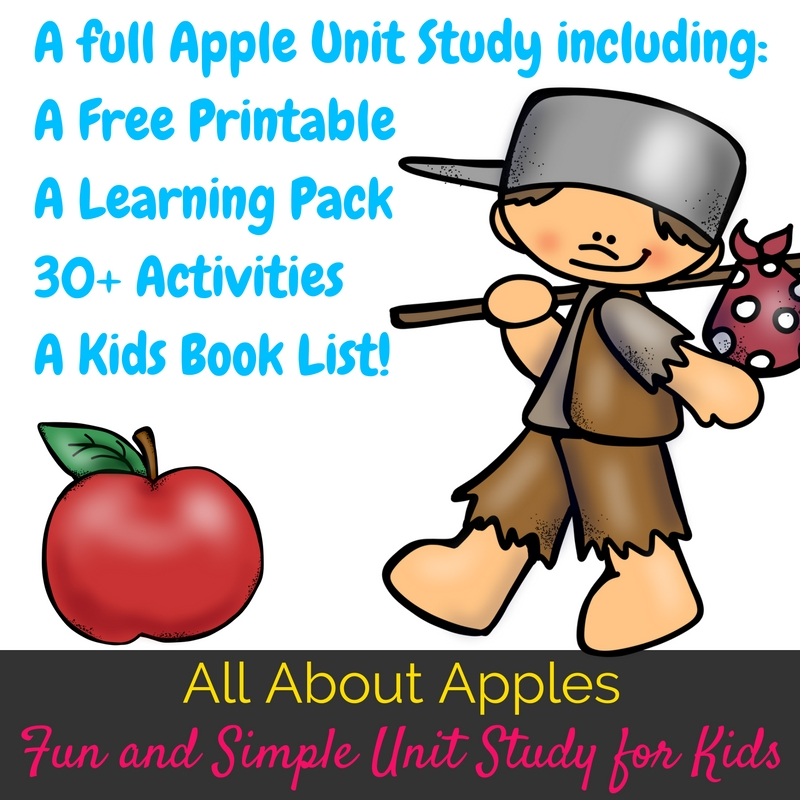 Planning an apple unit study or an apple theme week this fall? You have to check out this awesome apple themed unit study with books, activities, and more!