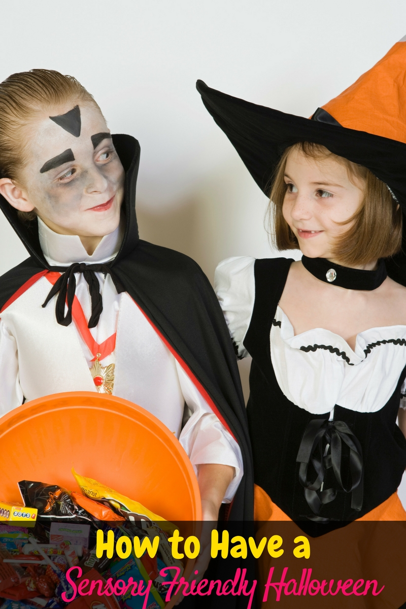 How to have a super fun sensory friendly Halloween to help you and your child enjoy the holiday!