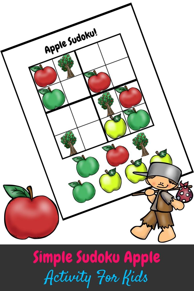 Simple Sudoku Apple Kids Activity