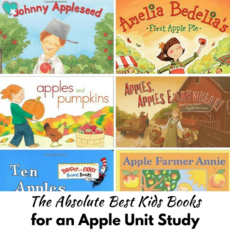 The Absolute Best Kids Books for an Apple Unit Study!
