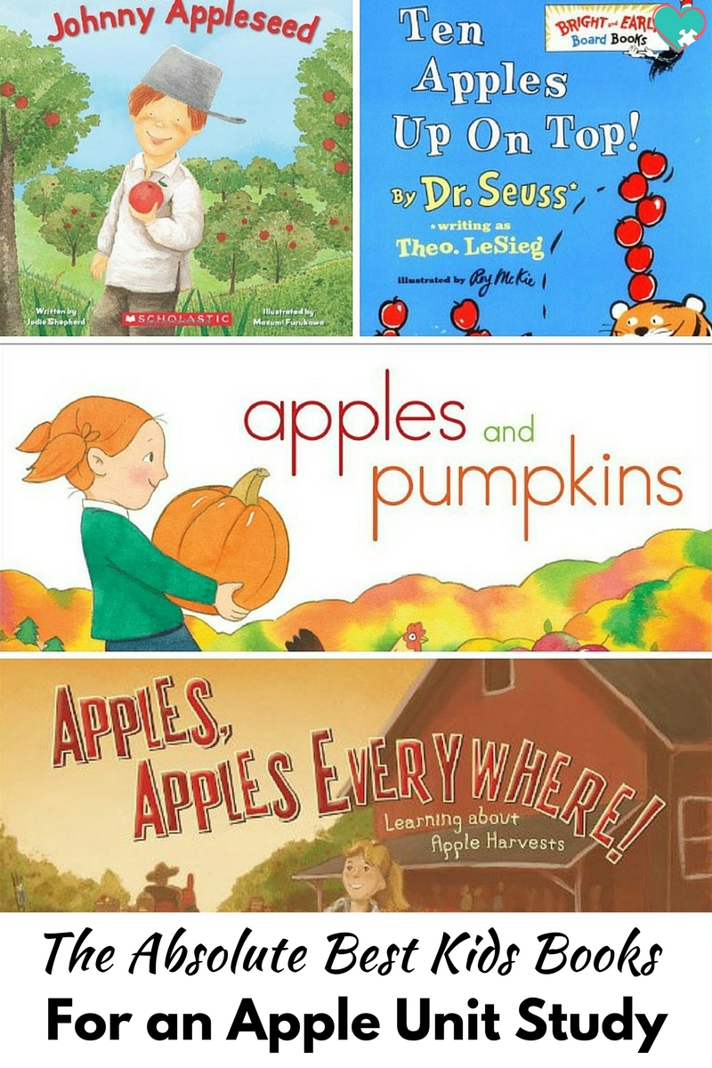 The Absolute Best Kids Books for an Apple Unit Study