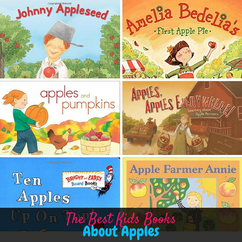 This is a huge list of the best kids books about apples. You *need* this if you're planning a fall apple unit study or a apple themed week for your preschool!