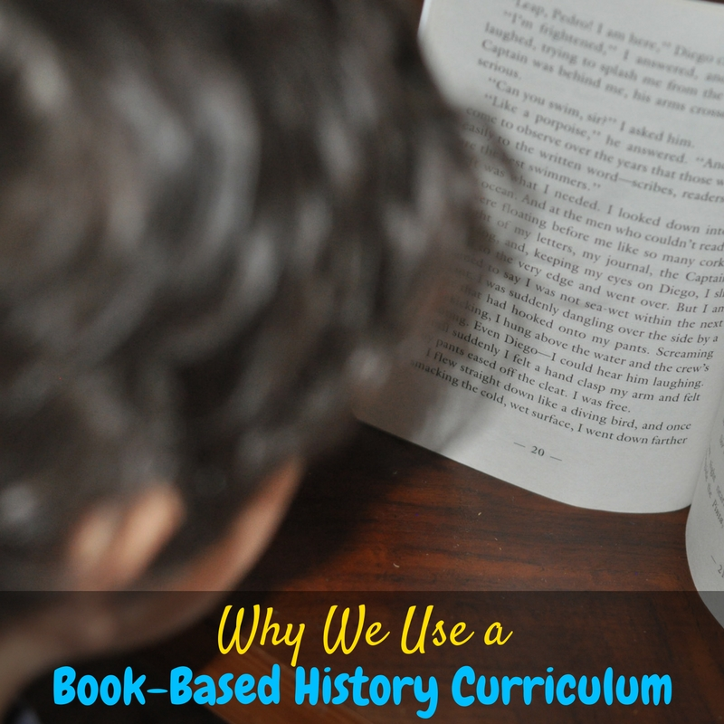 We love using a book-based history curriculum for our advanced reader!