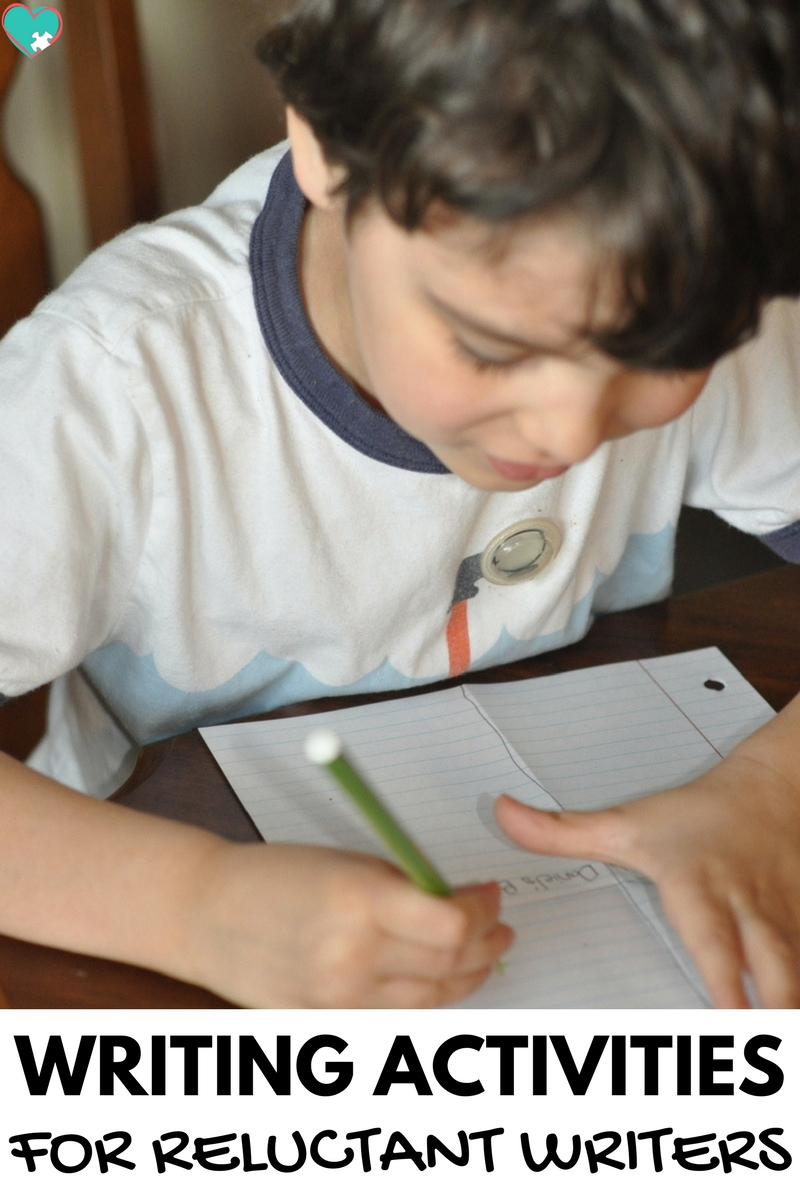 Fun and Simple Writing Activities for Reluctant Writers