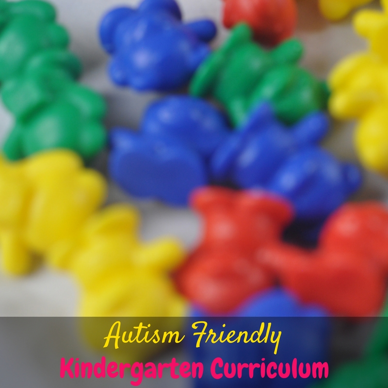 Homeschooling an autistic child can be intimidating, so here are our choices for autism friendly kindergarten curriculum!