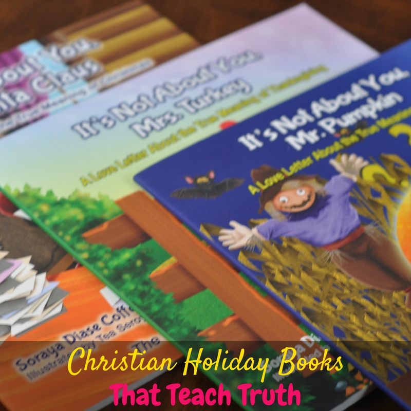 It can be hard to find Christian holiday books that teach the truth about the holidays, but these are adorable and age-appropriate!