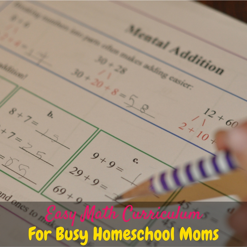 This easy math curriculum is perfect for busy homeschooling moms! We love using Math Mammoth homeschool math curriculum in our homeschool!