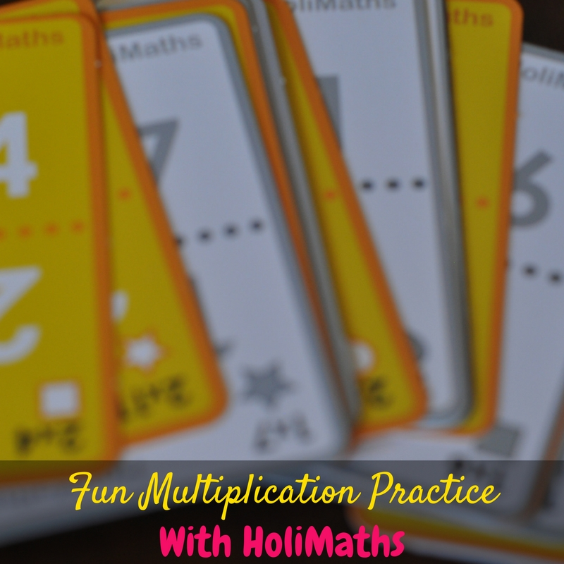 Want a way to incorporate fun multiplication practice into your homeschool day? You need this super fun multiplication game from HoliMaths!