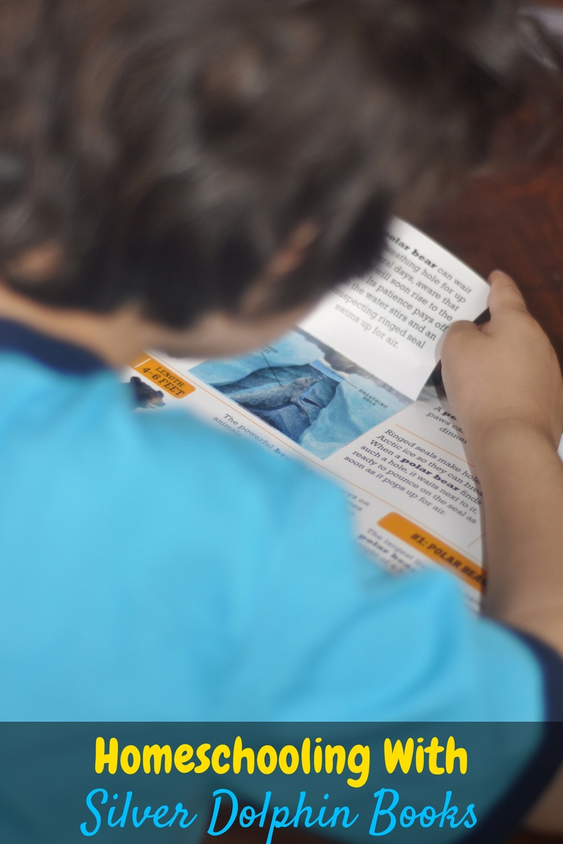 We loved homeschooling with the Scanorama Series from Silver Dolphin Books! The books were great quality, engaging, and fun to read with all three boys!