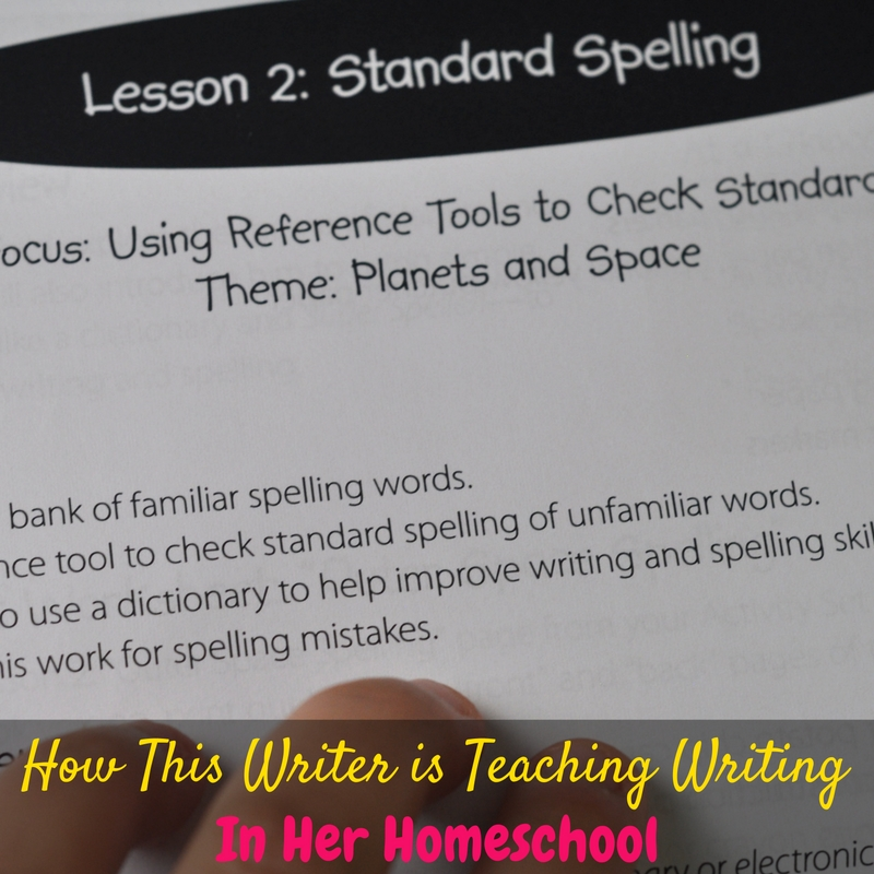 This post shares how this professional writer teaches writing in her homeschool to her reluctant writer with WriteShop writing curriculum!