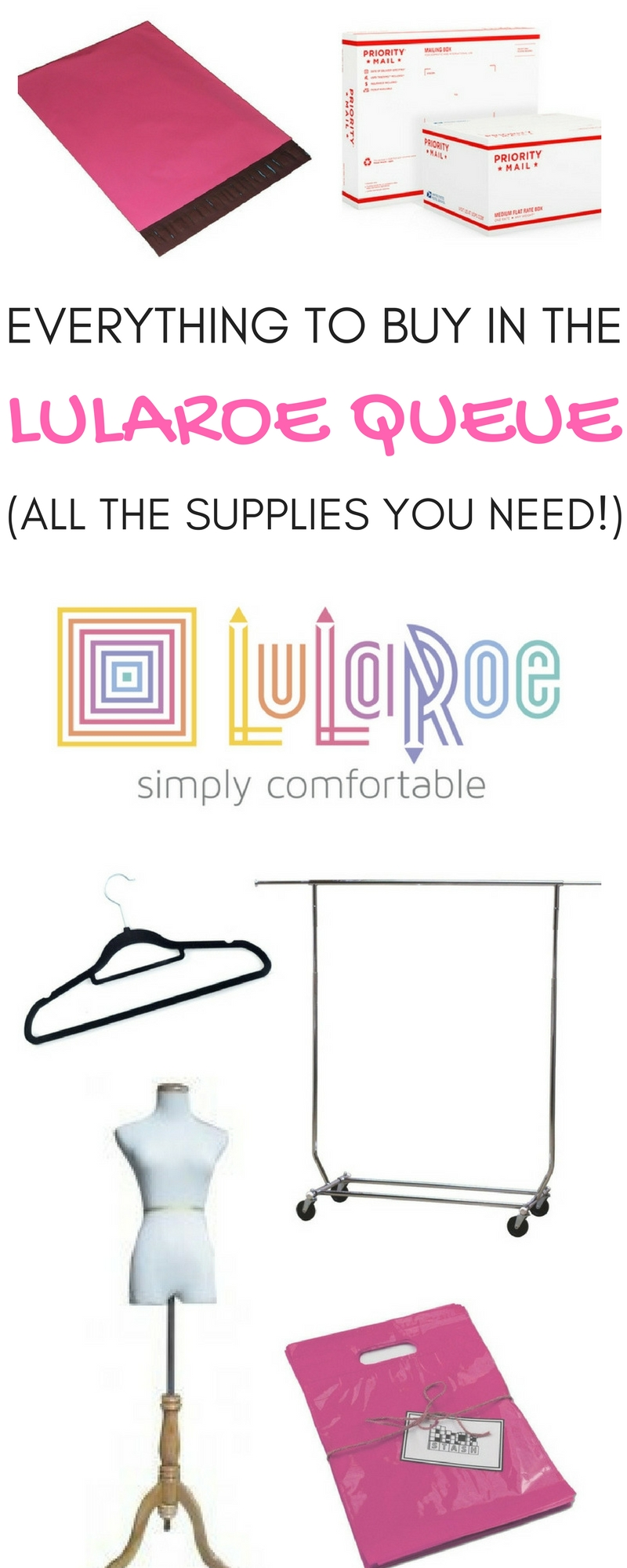 Everything to Buy in the LuLaRoe Queue (All the supplies you need to be a LuLaRoe consultant!)