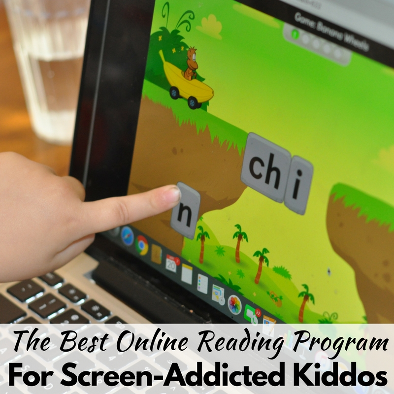 The Best Online Reading Program for Screen-Addicted Kiddos!