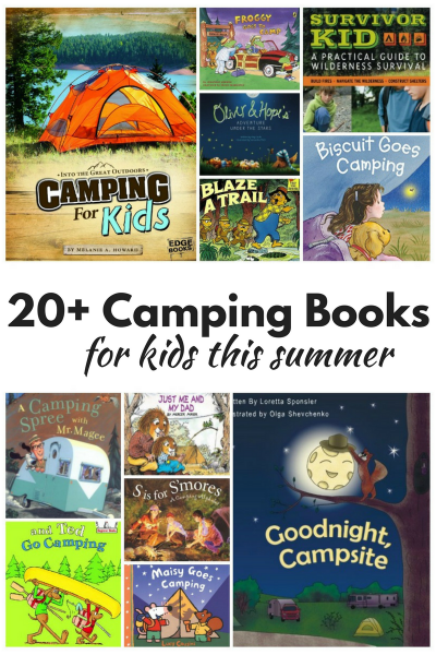 20+ Super Fun Camping Books for Kids