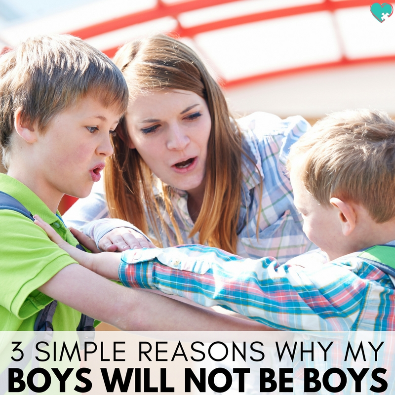 3 Simple Reasons Why My Boys Will Not Be Boys