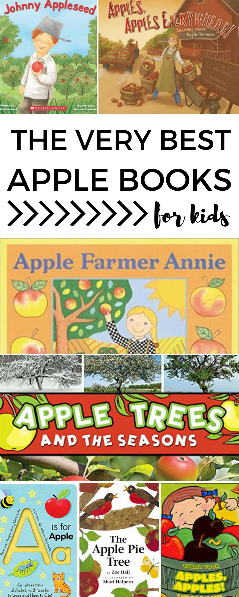 the absolute best kids books for an apple unit study autistic mama