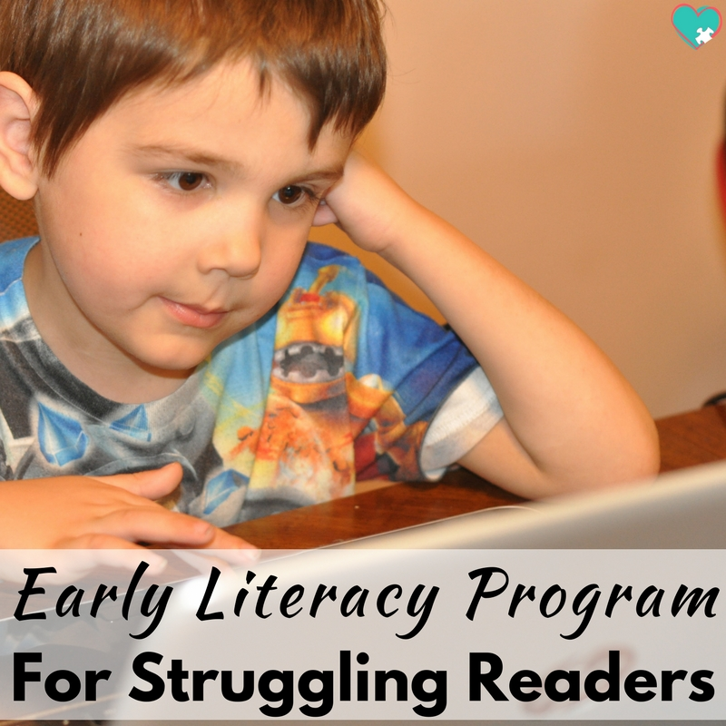 Early Literacy Program for Struggling Readers
