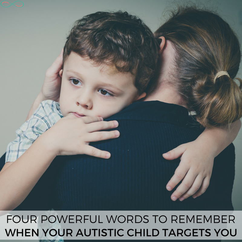 Four Powerful Words for Autism Moms to Remember